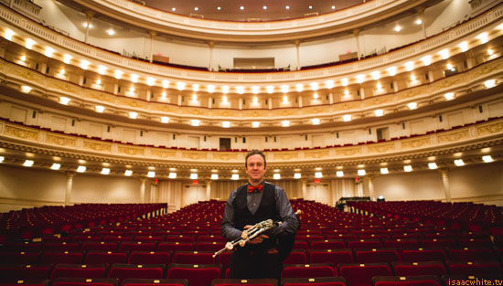 Performing with The Gettys at Carnegie Hall, NY: 12-16-2015